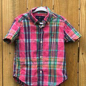 RALPH LAUREN button down shirt sz. 2/2T